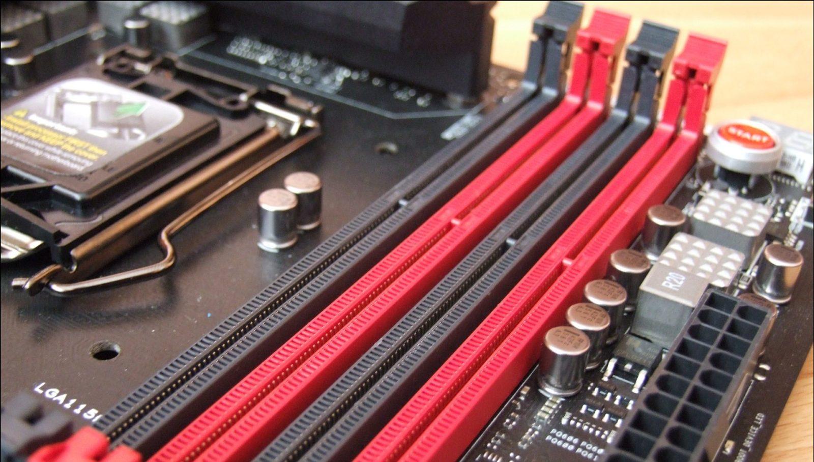 Как выбрать оперативную память для компьютера: Двухканальный режим оперативной памяти