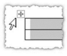 Выделение всей таблицы