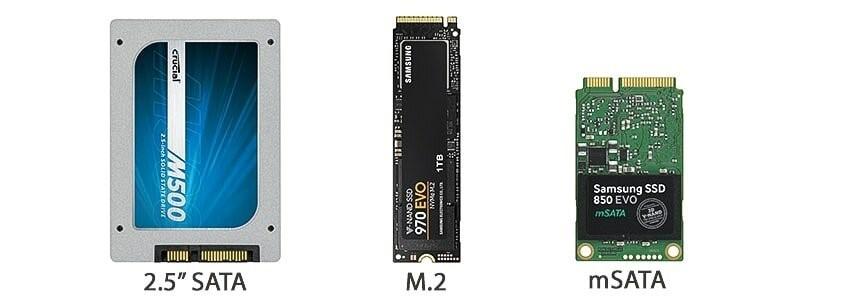 Форматы SSD