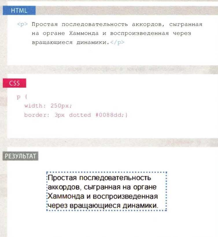 Блоки CSS: Стенографические свойства